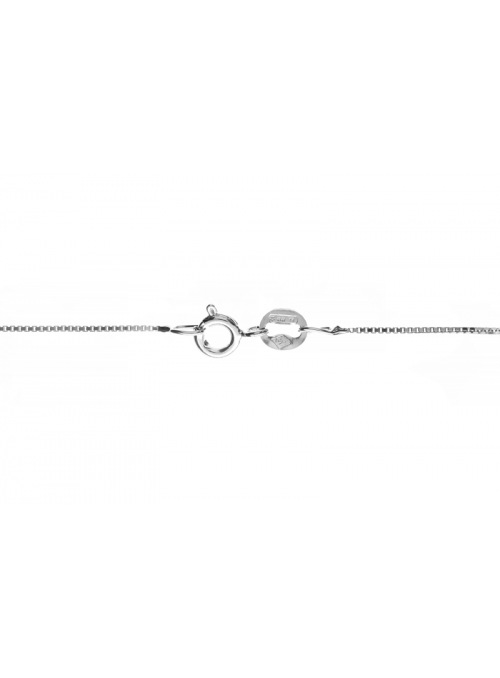 Home Silver chain weave ankle - 2