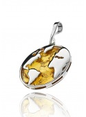 Home Globe pendant with amber - 2