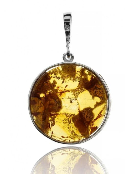 Home Globe pendant with amber - 3