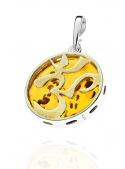 Home Pendant Eye of Oma with amber - 2