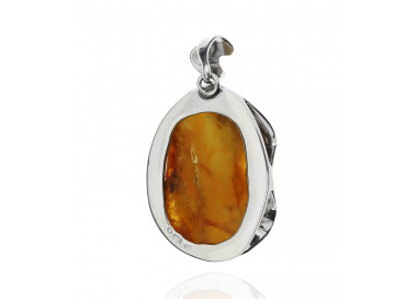 Unique items Pendant with Baltic amber - 3