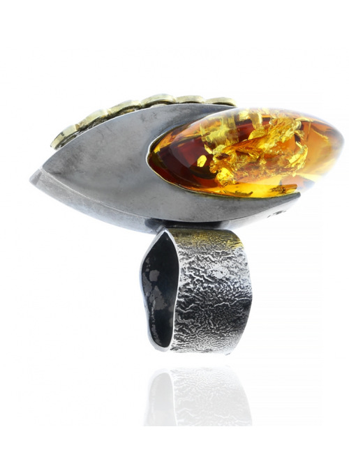 Home Amber ring - 3