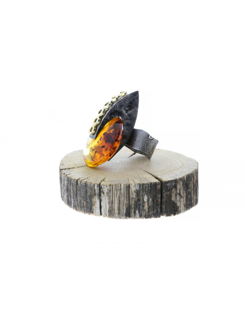 Home Amber ring - 5