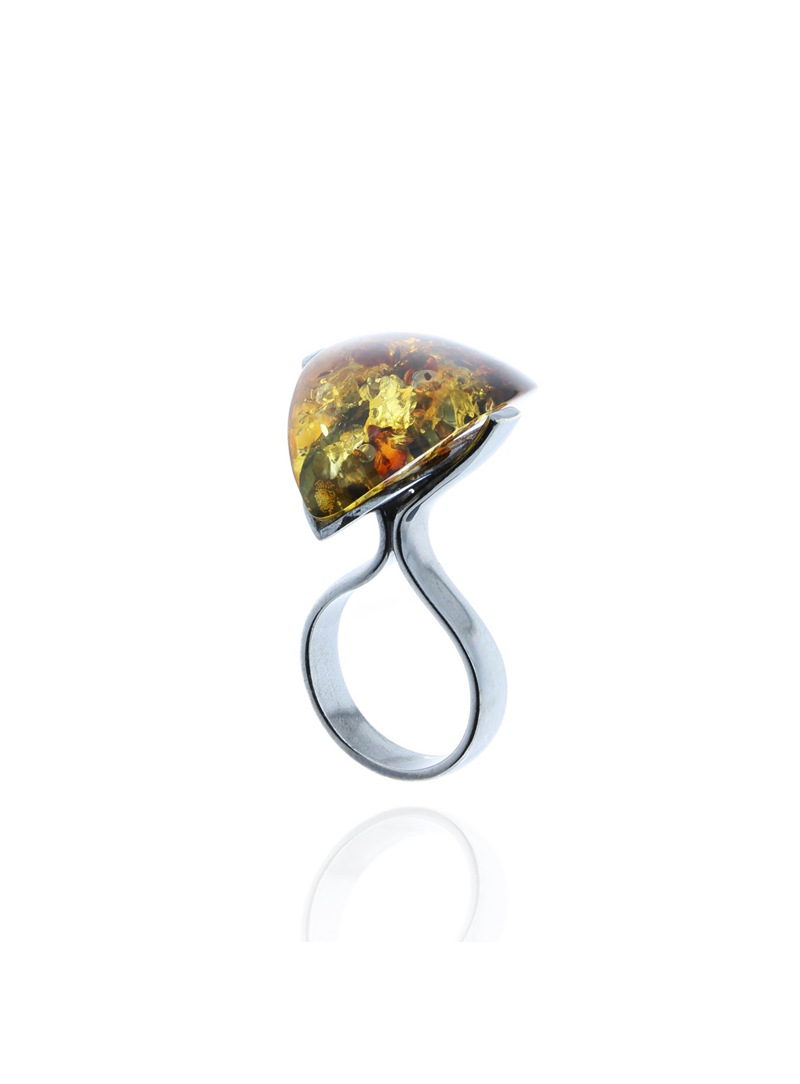 Home Amber ring - 1