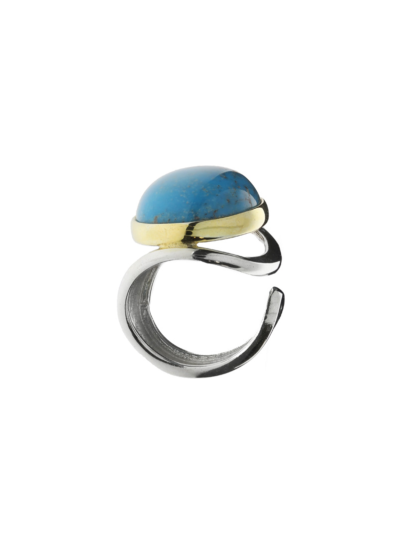 The main Ring with turquoise - 1