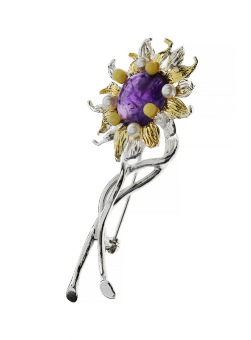 Brooches Sunflower brooch - 2