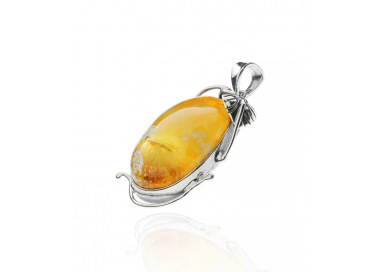 Unique items Pendant with Baltic amber - 2